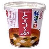 マルコメ カップ料亭の味 とうふ 1食×6個