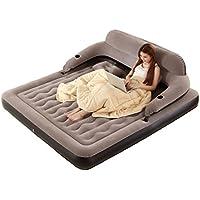 ベッド、インフレータブルマットレス家庭用屋外空気ベッドポータブル (色 : B, サイズ さいず : 152CM*203CM*19CM)