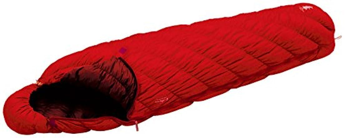 重要なスーパーマーケットビジュアルモンベル(mont-bell) 寝袋ダウンハガー800#3[最低使用温度-2度] サンライズレッド R/ZIP SURD 1121291-SURD
