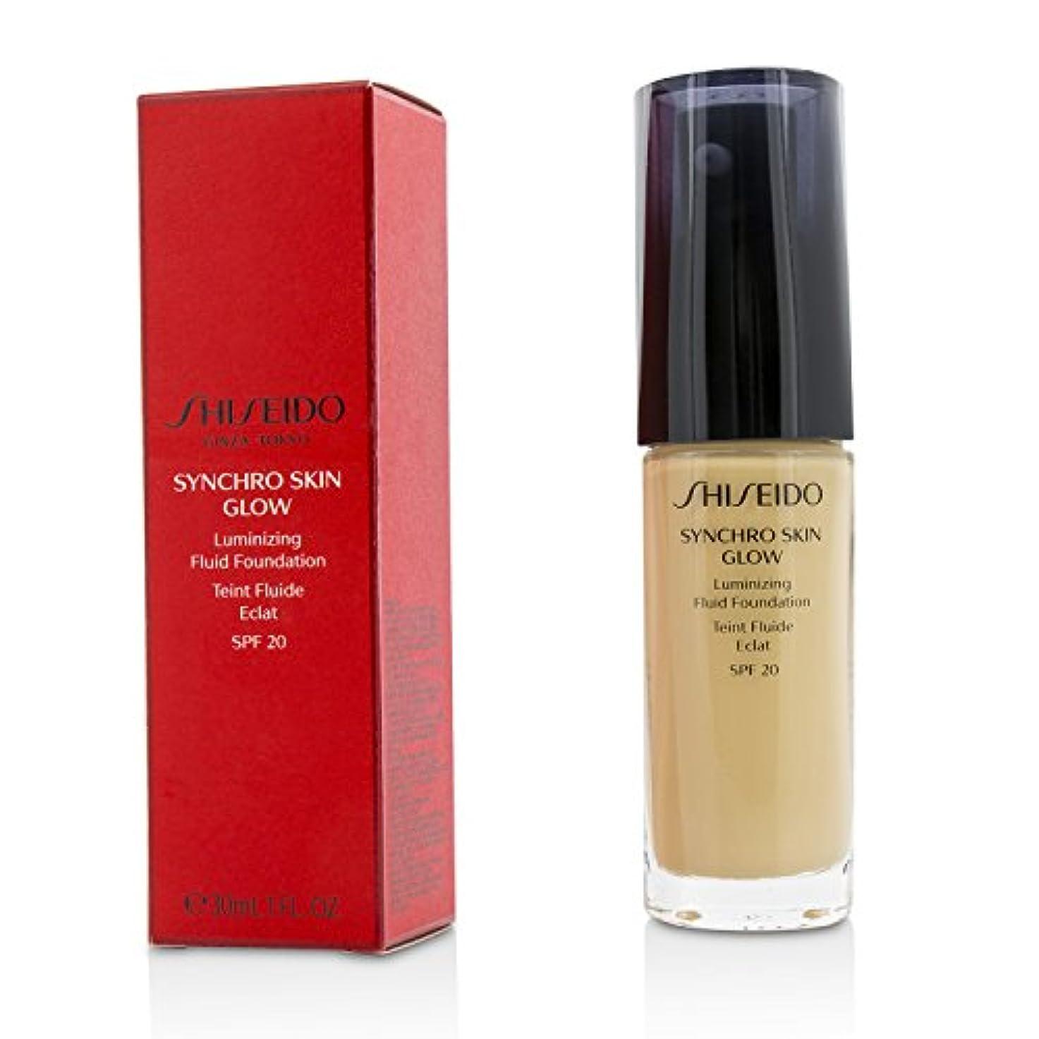 レールたらい硬さ資生堂 Synchro Skin Glow Luminizing Fluid Foundation SPF 20 - # Golden 2 30ml/1oz並行輸入品