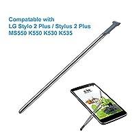 LG Stylo 2 Plus(スタイラス2プラス)のためのCemobile交換ペンMS550 K550 K535 K530(グレー) [並行輸入品]