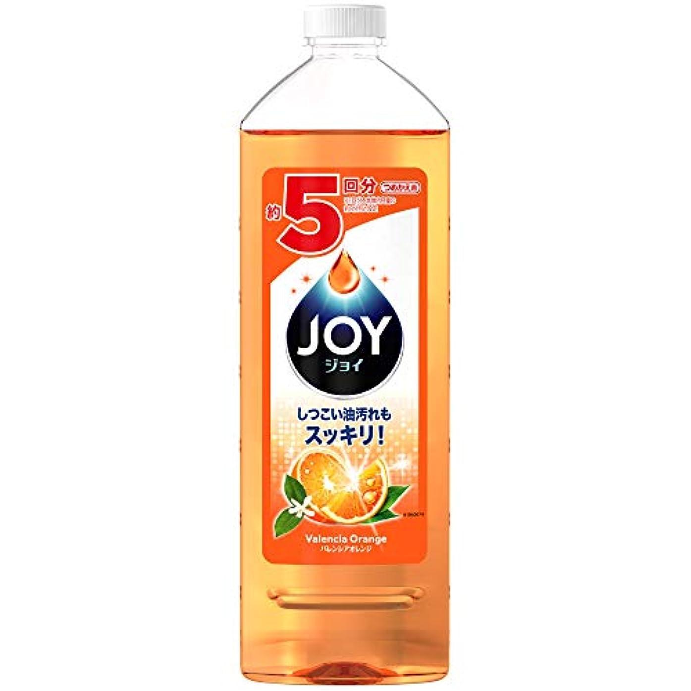 の中で前オデュッセウスジョイコンパクト 食器用洗剤 バレンシアオレンジの香り 詰め替え 特大 770mL