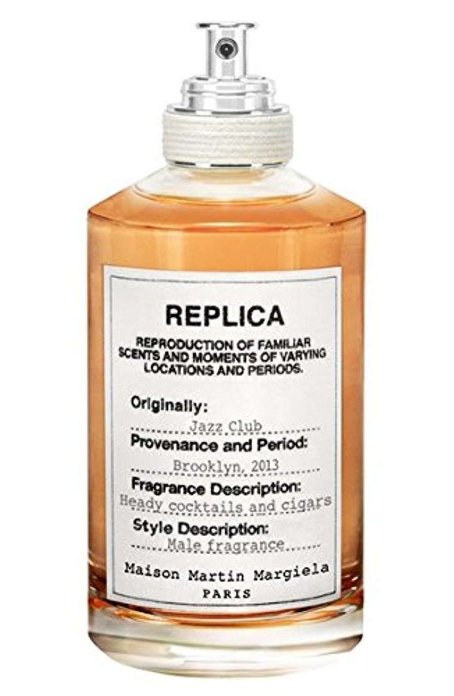 平和的社説落ち着くReplica - Jazz Club (レプリカ - ジャズ クラブ) 3.4 oz (100ml) Fragrance for Men