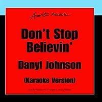 Don't Stop Believin' - Karaoke Version【CD】 [並行輸入品]