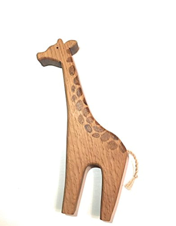 キリン – Hand Made木製Waldorf Toy Figure