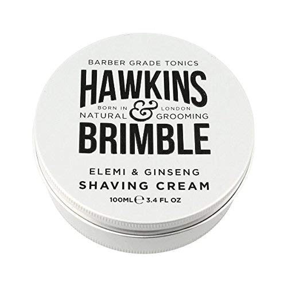 ウナギ通路批判するHawkins & Brimble Shaving Cream (100ml) [並行輸入品]