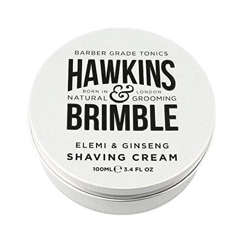 貢献世界記録のギネスブックフラップHawkins & Brimble Shaving Cream (100ml) [並行輸入品]