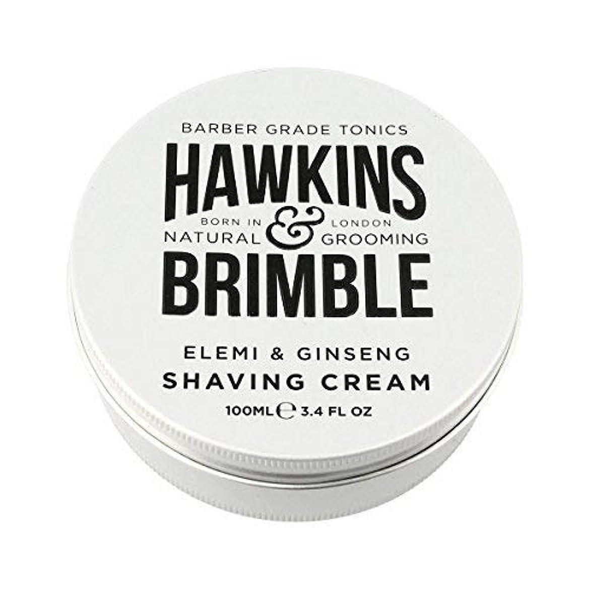 形成引き渡すスプリットHawkins & Brimble Shaving Cream (100ml) [並行輸入品]