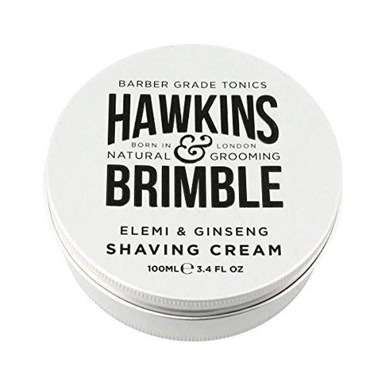 罪悪感コーンウォール靴下Hawkins & Brimble Shaving Cream (100ml) [並行輸入品]