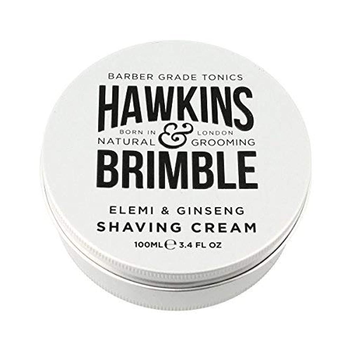 推定する自分自身急いでHawkins & Brimble Shaving Cream (100ml) [並行輸入品]