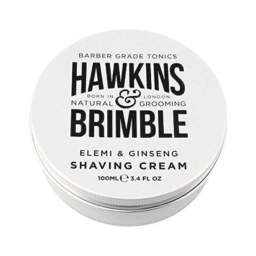 臭い描写砂漠Hawkins & Brimble Shaving Cream (100ml) [並行輸入品]