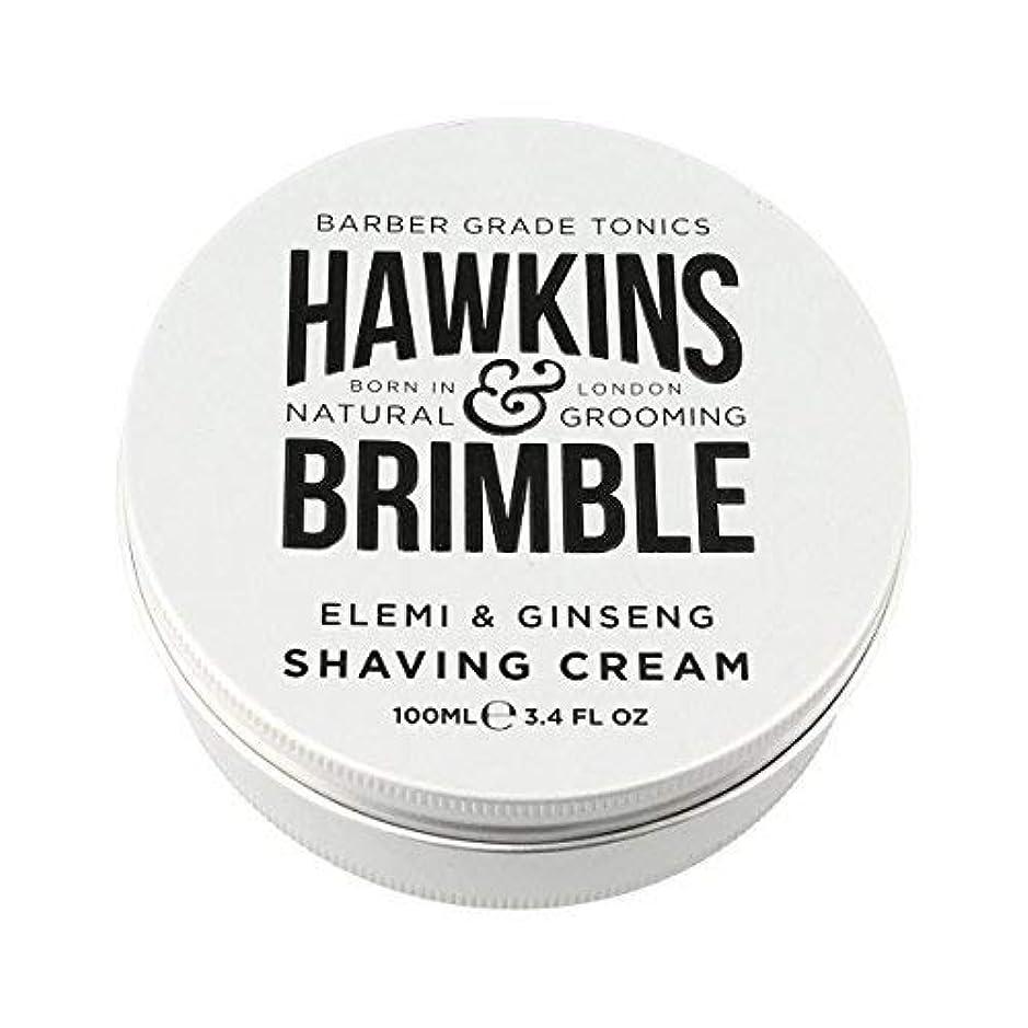 方法論式現在Hawkins & Brimble Shaving Cream (100ml) [並行輸入品]