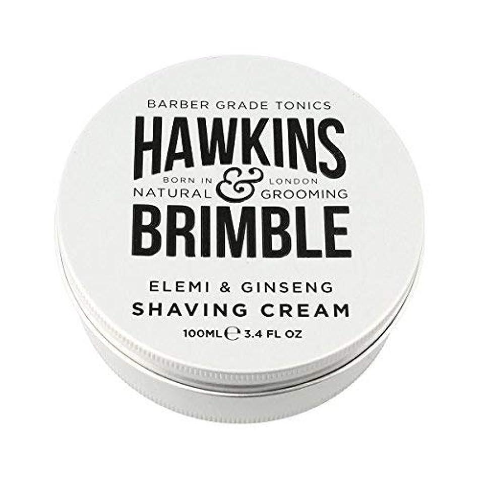 ステンレス本部アピールHawkins & Brimble Shaving Cream (100ml) [並行輸入品]
