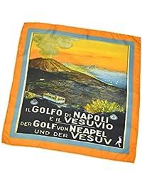 [Spacca Neapolis【スパッカネアポリス】]スカーフ/ネッカチーフ PS/BN13 シルク プリント
