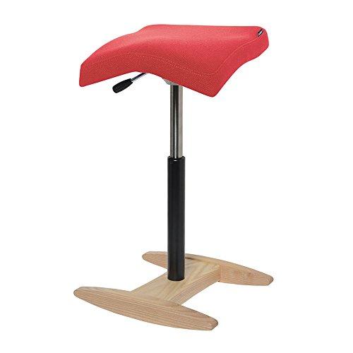 バランスシナジー スクエア 通常 レッド 腰痛対策 腰痛予防 姿勢改善 椅子 バランスチェア 大人用