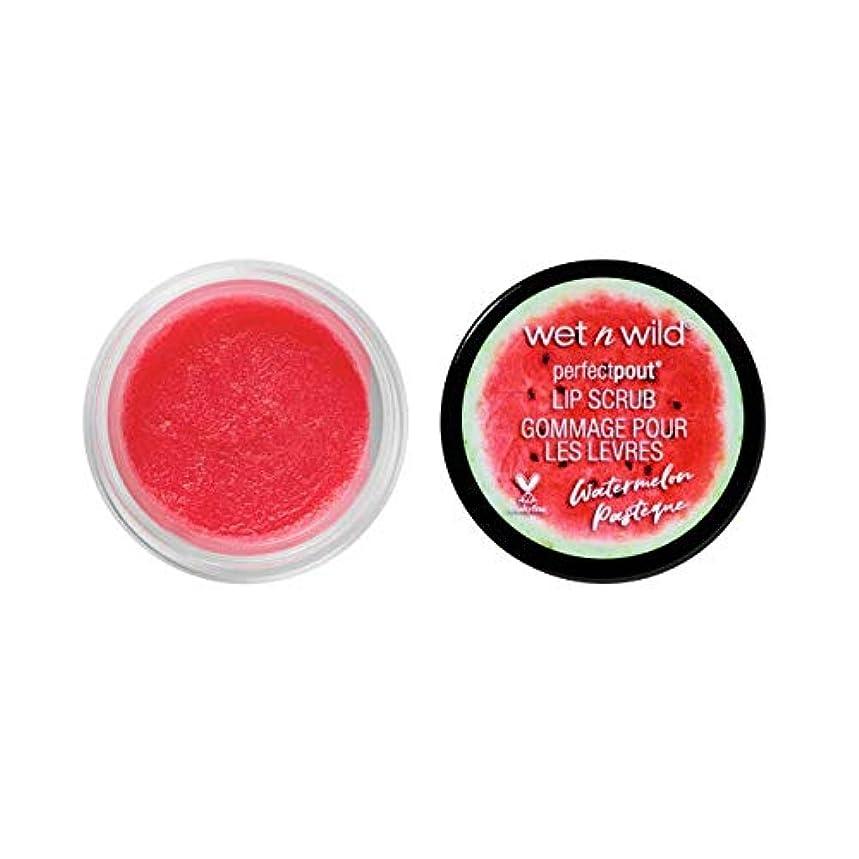 友情踊り子無駄にWET N WILD Lip Scrub - Watermelon (3 Pack) (並行輸入品)