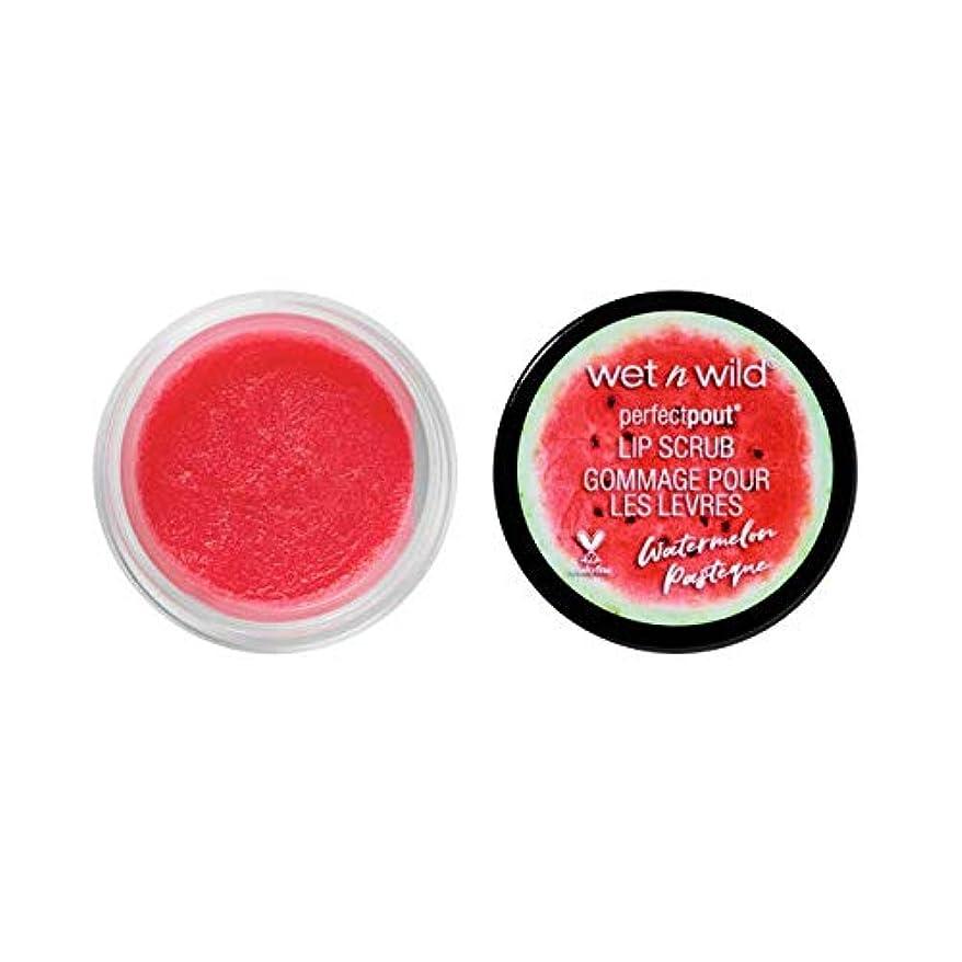 スラム街印をつける間接的WET N WILD Lip Scrub - Watermelon (3 Pack) (並行輸入品)