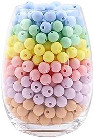 Mamimami Home 硅膠 圓珠 12MM 50個 糖果色系 硅膠串珠 diy 材料材料 手工制作 禮物 手工藝 零件