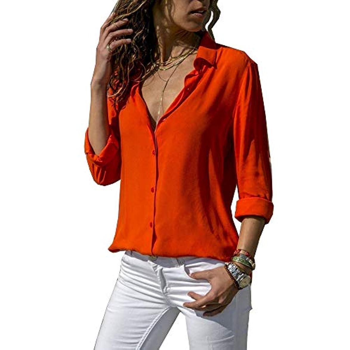 有名運搬屋内MIFAN ルーズシャツ、トップス&Tシャツ、プラスサイズ、トップス&ブラウス、シフォンブラウス、女性トップス、シフォンシャツ