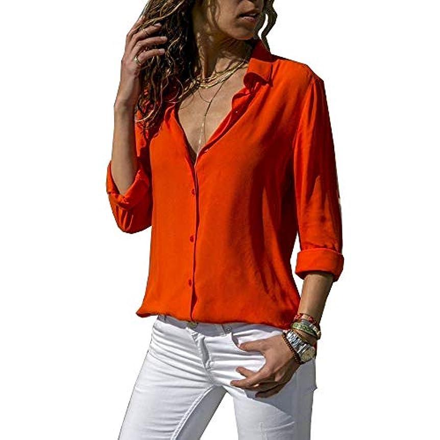 本会議混乱したしなければならないMIFAN ルーズシャツ、トップス&Tシャツ、プラスサイズ、トップス&ブラウス、シフォンブラウス、女性トップス、シフォンシャツ