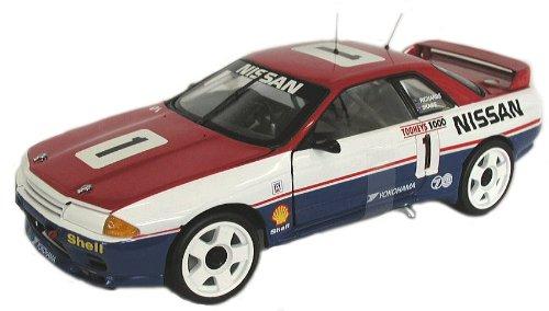 京商 1/18  スカイラインGTR (R32)1991年オーストラリア・バサースト優勝車 08336A