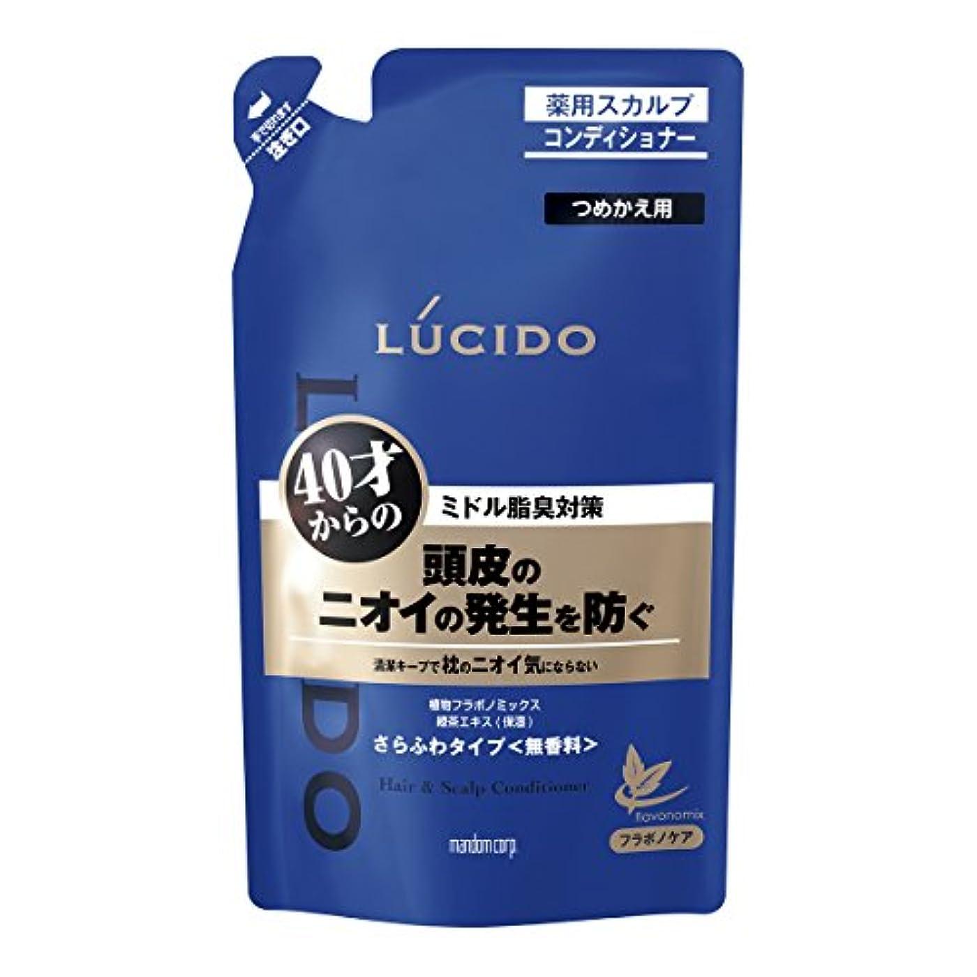 勤勉もろいいくつかのルシード 薬用ヘア&スカルプコンディショナー つめかえ用 380g(医薬部外品)