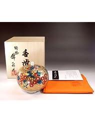 有田焼?伊万里焼の高級香炉陶器|贈答品|ギフト|記念品|贈り物|黄金桜?陶芸家 藤井錦彩