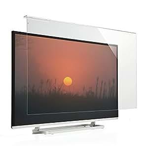 サンワダイレクト 液晶テレビ保護パネル 46インチ 47インチ 対応 アクリル製 200-CRT015