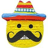 Pinatas Large Mexican絵文字、フィエスタパーティーゲーム、装飾、写真プロップfor Cinco De Mayo , San Antonioフィエスタ週またはフィエスタテーマ誕生日、イベント、22
