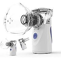 Burker ネブライザー 吸入器 超音波 ポータブル 手持ち式 家庭用 操作簡単 日本語説明書が付き