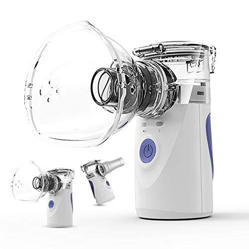 honoy ネブライザー吸入器超音波スチーム加湿器手持ち式家庭用携帯便利usb充...