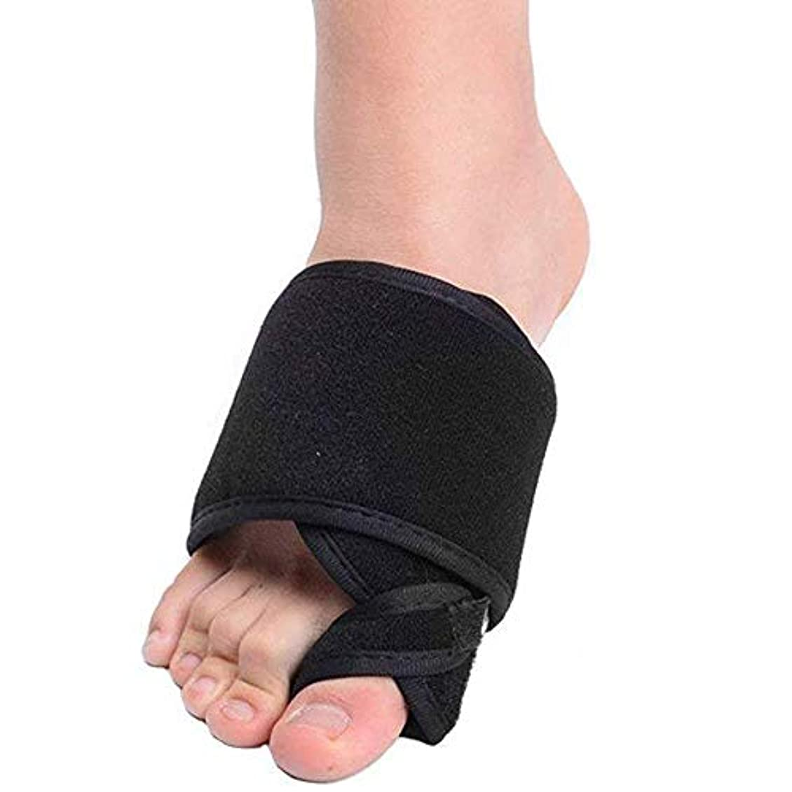 毎年ジョグ上流のスプリントサポート付きのつま先セパレーター調整可能なストラップオーバーラップトウのつま先の痛みの緩和(1)