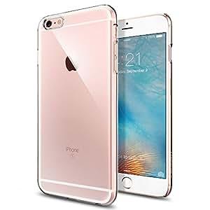 【Spigen】 iPhone6s Plus ケース, シン・フィット [ パーフェクト フィット ] アイフォン6s プラス 用 カバー (クリスタル・クリア SGP11637)