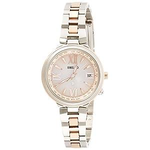 [ルキア]LUKIA 腕時計 サブマスコミモデル ソーラー電波修正 サファイアガラス 10気圧防水 SSVV020 レディース