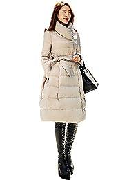 (クィーンシャイニー)QUEENSHINY ファッション レディース ホワイト アヒル羽毛 ダウンジャケット