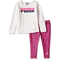 PUMA Baby Girls Top and Legging Set