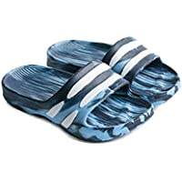 Boys Girls Slide Sandals, Slippers EVA Home Indoor Bathroom Skid Soft Water Flip Flop Shoes,Blue,22/23