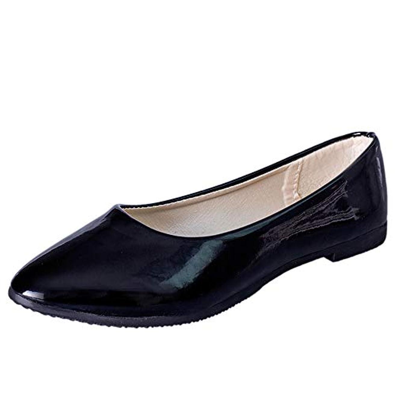 属する実際引き出しレディース サンダル Tongdaxinxi 女性 カジュアルなローファーの靴 平らな尖ったつま先の革 スリップ フラットシューズ 通勤 軽量 疲れにくい 大きいサイズ レディース サンダル 春 夏 秋 冬 快適