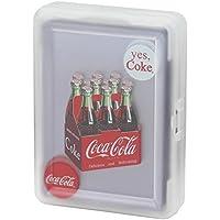 Coca-Cola(コカ?コーラ) プレイング?カード クリア 6ボトルパック