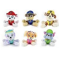 """セットの4x Nickelodeon Paw Patrol 8"""" Pup Pals Stuffed Plush人形子供プレゼントおもちゃ"""