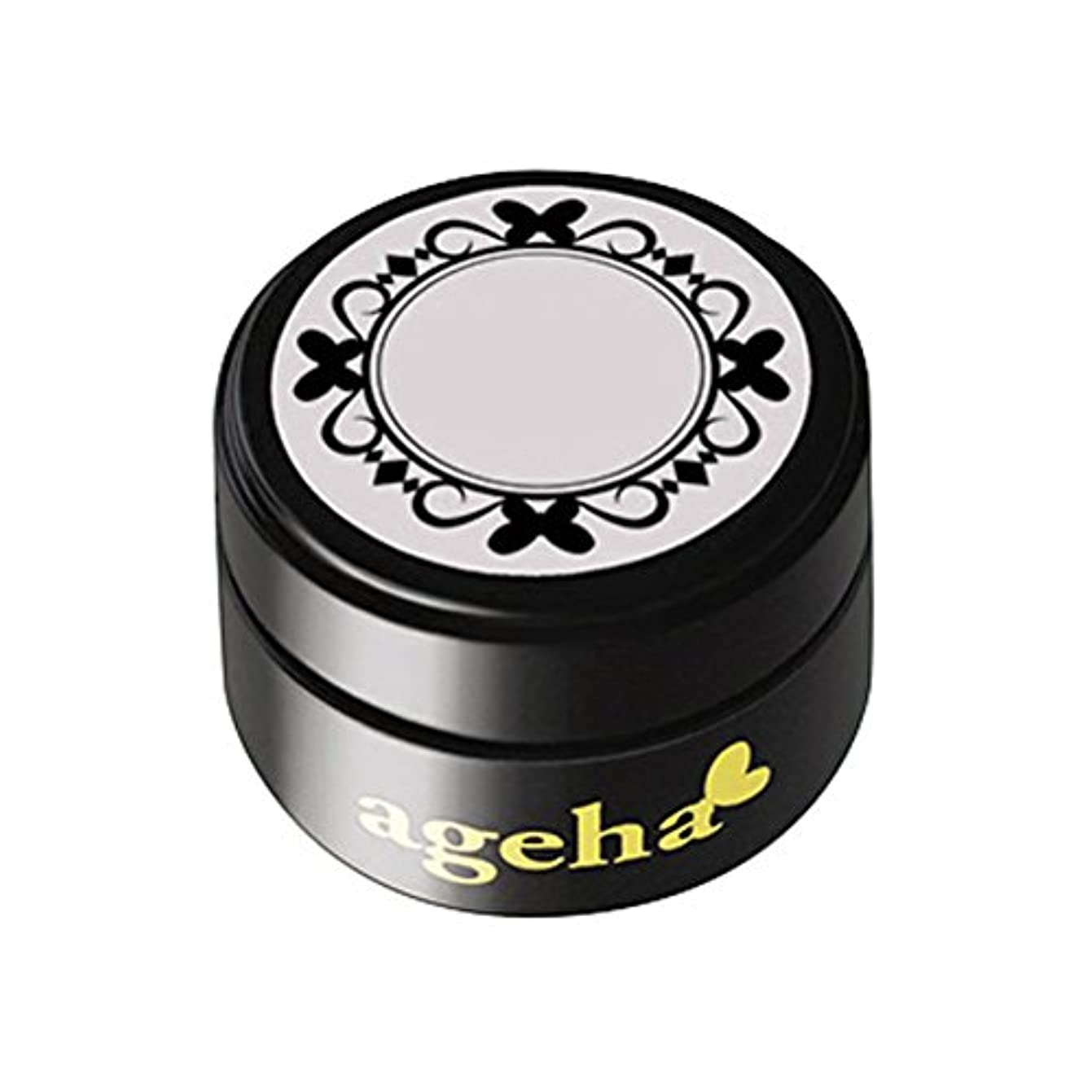 アメリカなしで刈り取るageha gel カラージェル コスメカラー 107 グレージュヌード 2.7g UV/LED対応
