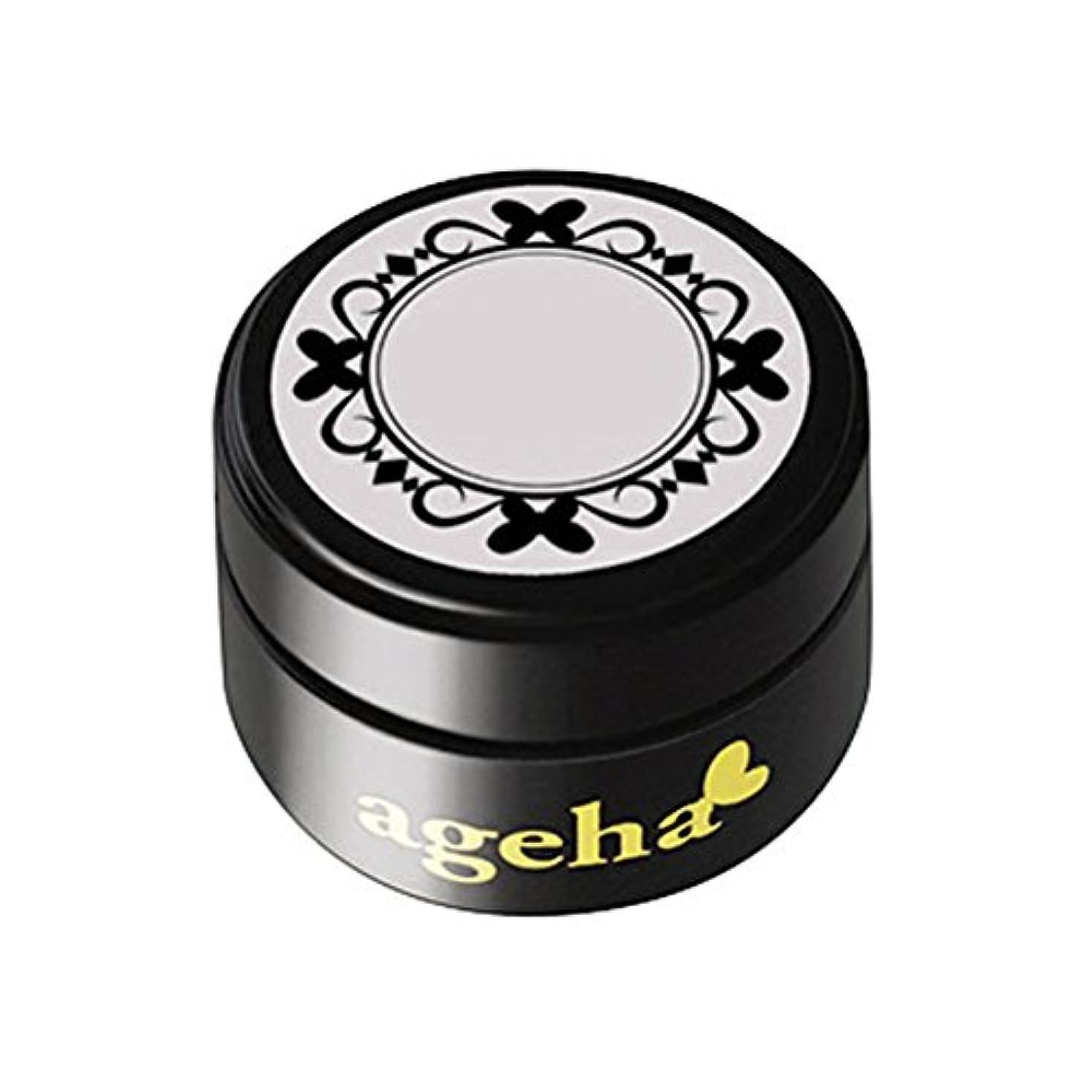 オープニング生き残りすすり泣きageha gel カラージェル コスメカラー 318 ロシアングレー 2.7g UV/LED対応
