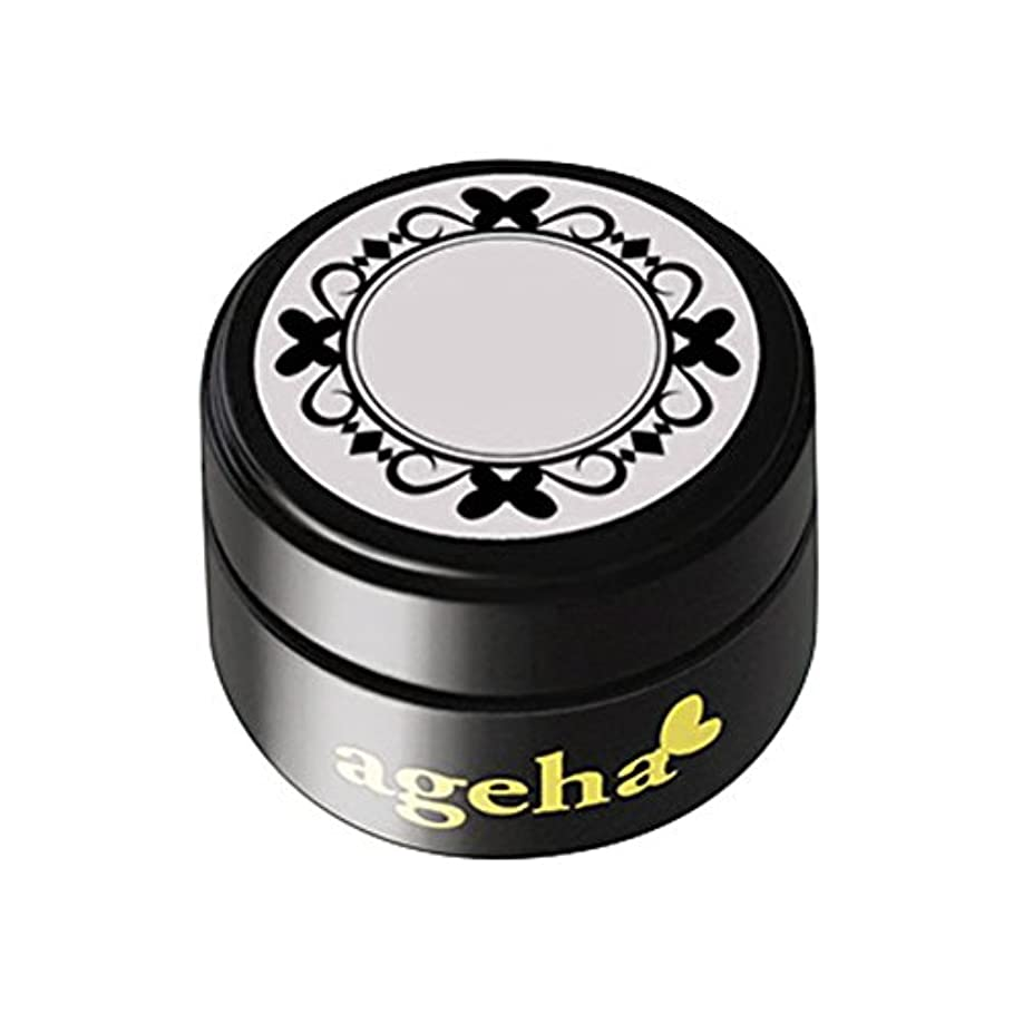 腹部酸化物結婚式ageha gel カラージェル コスメカラー 400 ホワイトスノー 2.7g UV/LED対応
