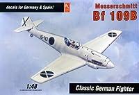 Hobby Craft Messerschmitt Bf 109B 1:48 Scale Military Model Kit