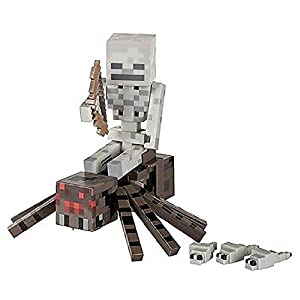 Minecraft Spider Jockey Action Figure Set [並行輸入品]