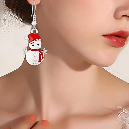 『イヤリングネックレスクリスマスインテリアサンタクロースイヤードロップペンダントクリスマスインテリア用-87-9-』の3枚目の画像