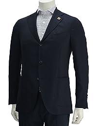 (ラルディーニ) LARDINI メンズ シングルジャケット ネイビー [並行輸入品]