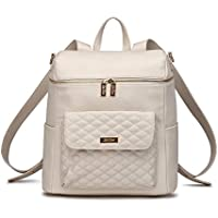 Monaco Diaper Bag Backpack (Pearl White)