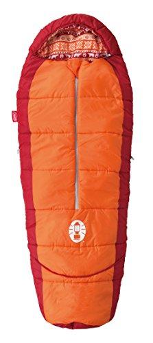 コールマン 寝袋 キッズマミーアジャスタブル/C4 オレンジ [使用可能温度4度] 2000027271