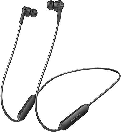 【高音質コーデック対応 完全防水 IPX7 8.5時間連続 】Bluetooth イヤホン (JPRiDE) 708 超小型 ワイヤレス イヤホン Bluetooth iPhone AAC APT-X 対応 自動ペアリング CVC6.0 ノイズキャンセリング マグネット搭載 Bluetooth イヤホン ブルートゥース (黒/ロングケーブル)